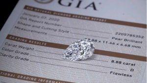 Сертификация бриллиантов