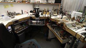 Как выглядит мастерская ювелира?