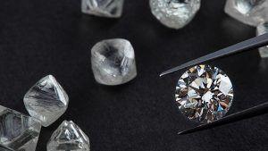 В Инстаграмме группы Рапапорт опубликованы эксклюзивные фотографии алмазного сырья АЛРОСы