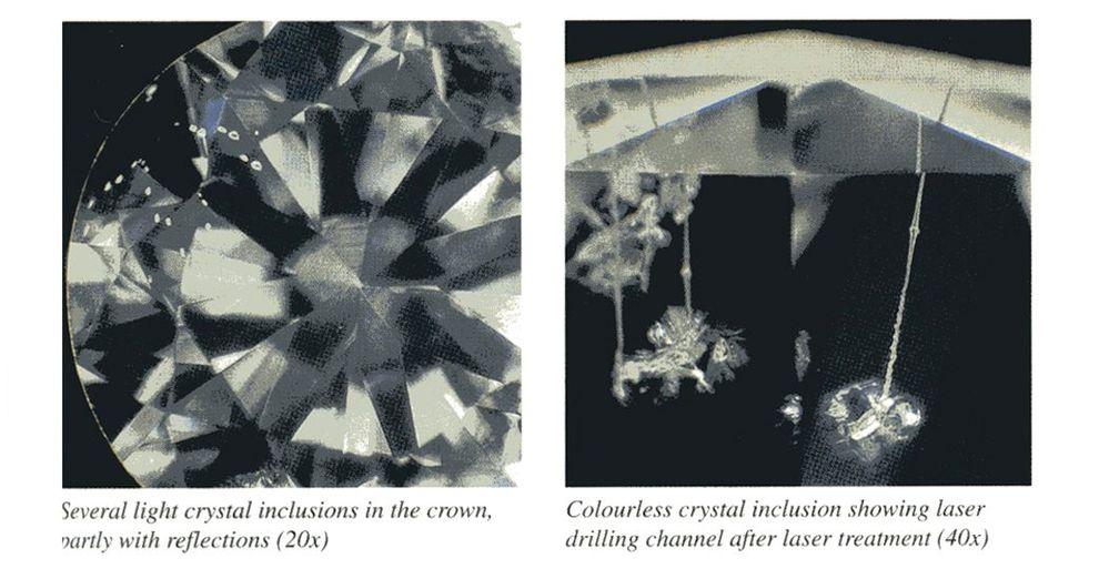 Выявление облагороженных бриллиантов
