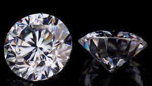 Как отличить муассанит от бриллианта?