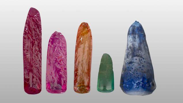 Искусственные ювелирные камни