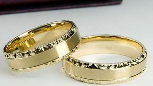 Какую выбрать пробу золота для обручальных колец
