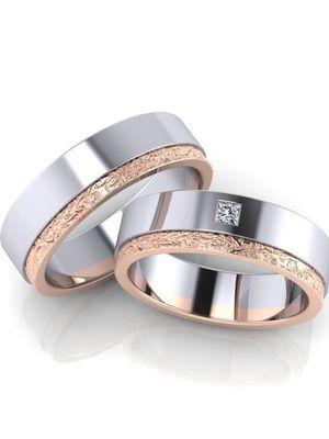 Из каких материалов изготавливают обручальные кольца
