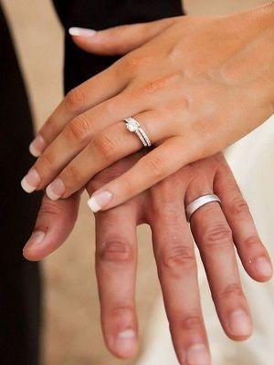 Выбираем обручальные кольца из платины