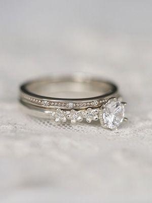 серебрянное помолвочное кольцо