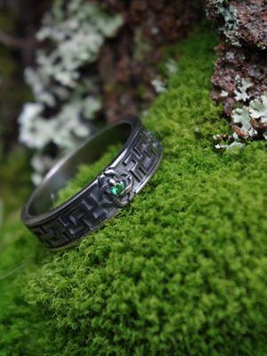 славянское кольцо свадебник