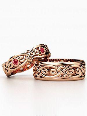 Славянские обручальные кольца: особенности дизайна и интересные идеи