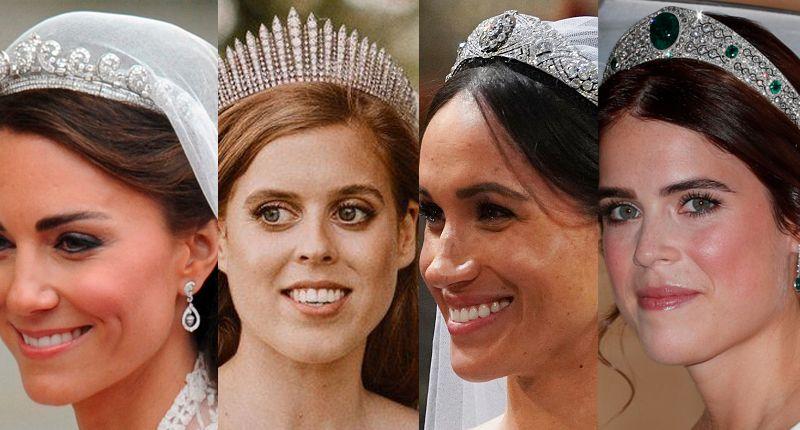 Тиары лицом к лицу: британская королевская семья