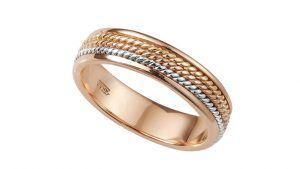 Обручальные кольца из красного и желтого золота: что лучше выбрать
