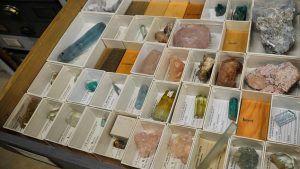 Коллекция драгоценных камней и минералов Смитсоновского музея