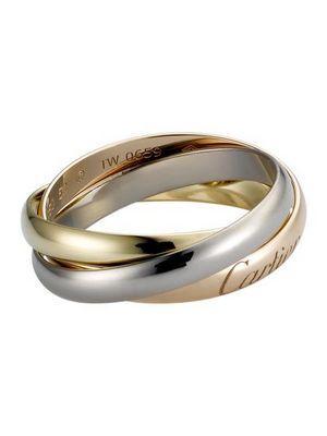 Необычный дизайн: двойные и тройные обручальные кольца