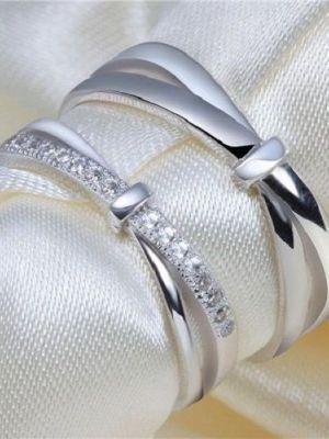 стальные кольца необычной формы