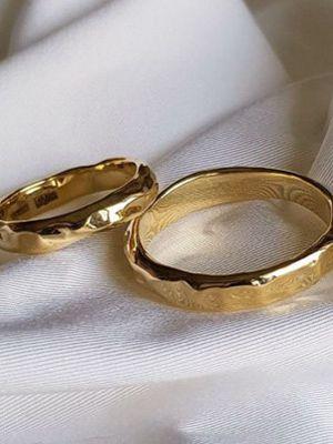 кольца из желтого золота