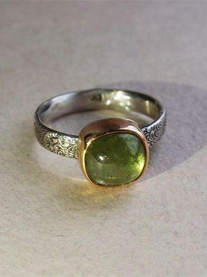 кольцо с гроссуляром
