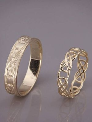 кольца с узорами