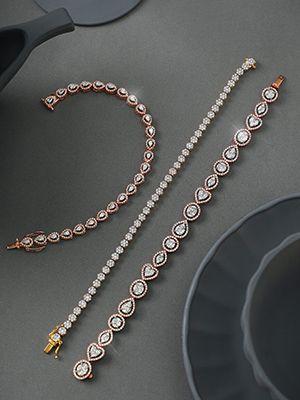 Три браслета с бриллиантами