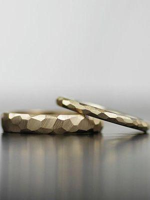 необычные обручальные кольца с гранями