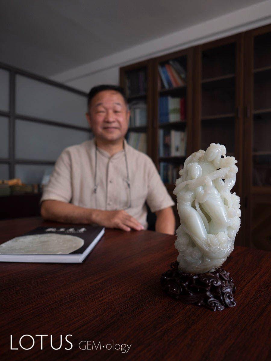 Современная резьба по нефриту в Китае: интервью с Lin Tze-Chuan