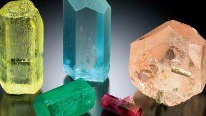 Бериллы: виды и свойства камней