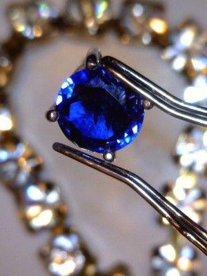 фото синего камня