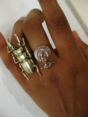 египетские кольца
