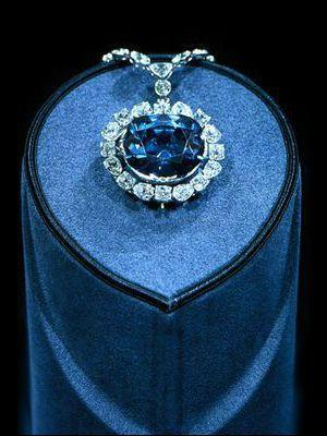 бриллиант синего цвета