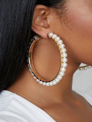 серьги-кольца для пышных девушек
