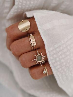 кольца для отпуска на пляже