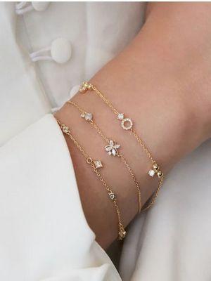 тонкие браслеты на руку