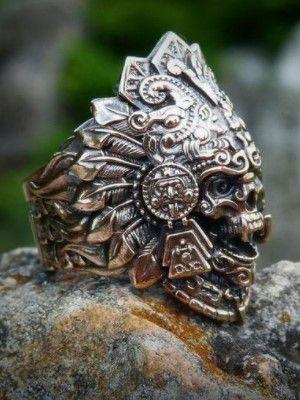стильный мужской перстень