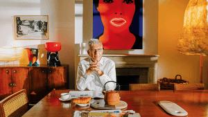 François Laffanou — владелец коллекции дизайнерских предметов