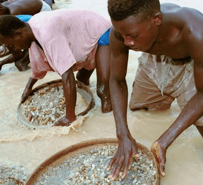 Судьба горняков-кустарей в Сьера-Леоне