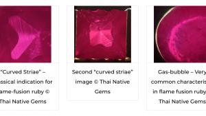 Как отличить натуральные рубины, сапфиры, изумруды от синтетических?