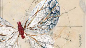 Украшенные драгоценными камнями бабочки Синди Чао