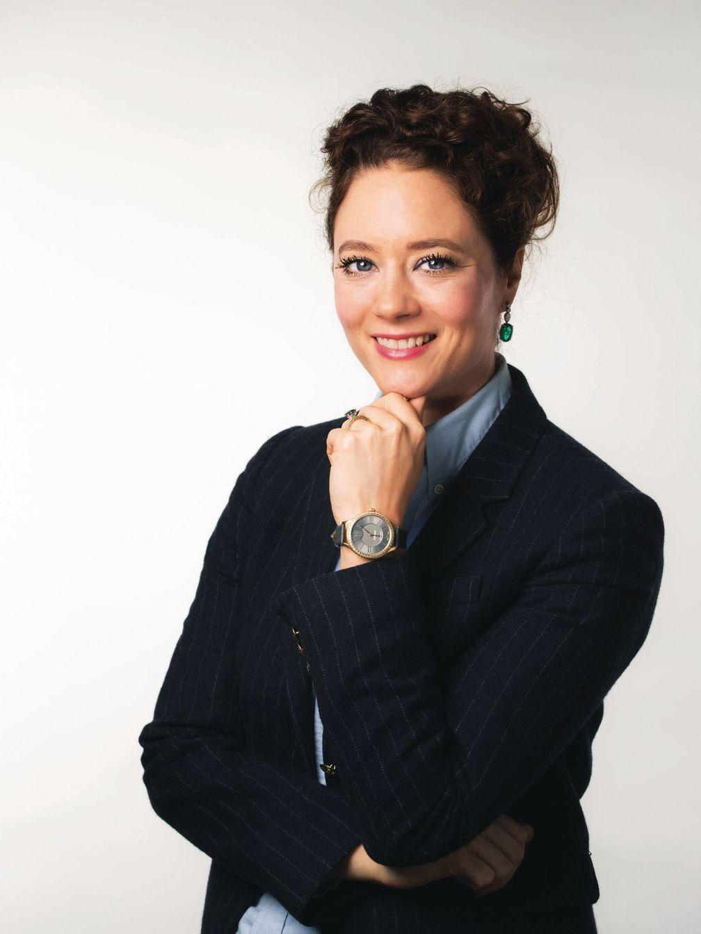 Джозина фон дем Буше-Кессель, директор по глобальным продажам компании Fabergé