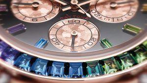 Наручные часы ярких оттенков