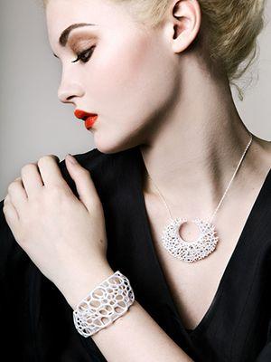 3D браслет и ожерелье