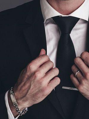 Мужские украшения для делового стиля