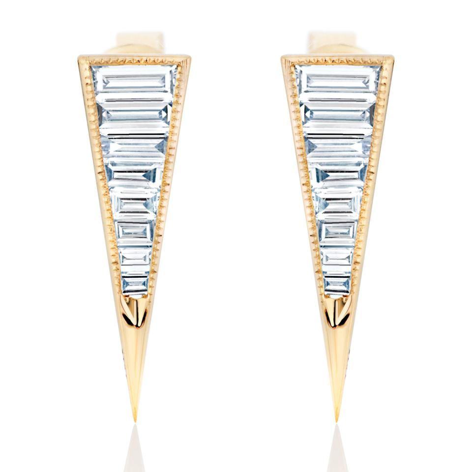 Бриллиантовые серьги от Nicole Rose Jewelry