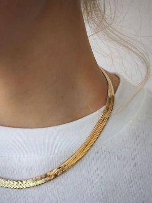 плетение золотой цепочки