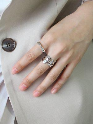 серебряные женские кольца