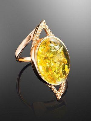 кольцо из позолоты