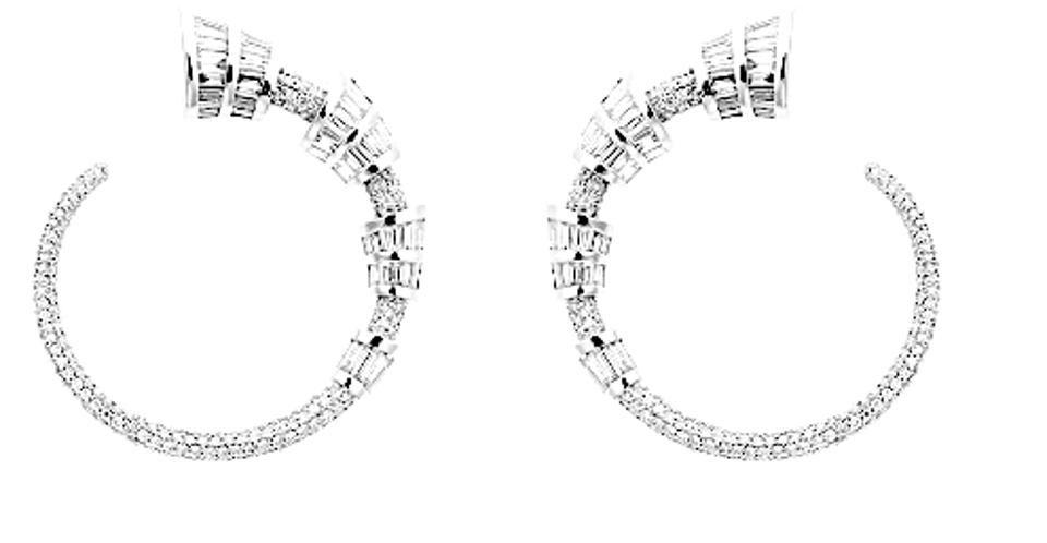 Бриллиантовые серьги от Niko Koulis