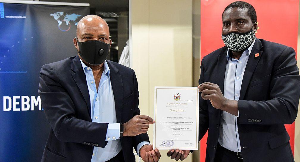 Debmarine Namibia и Университет Намибии создали лабораторию для диагностики Covid-19