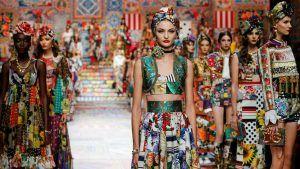 Dolce Gabbana вводит новый стиль — лоскутную технику