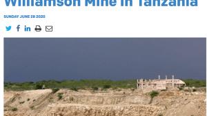 Крупнейшая алмазная шахта в Танзании продается