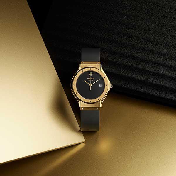Возвращение золотых наручных часов