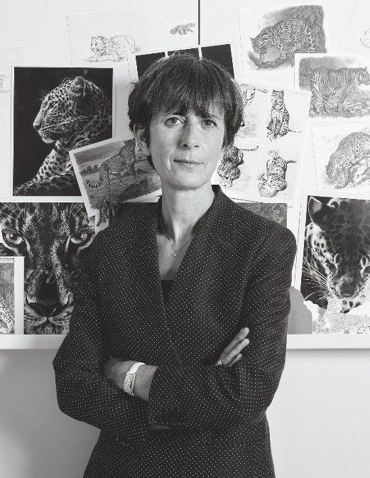 Жаклин Карачи, креативный директор Cartier
