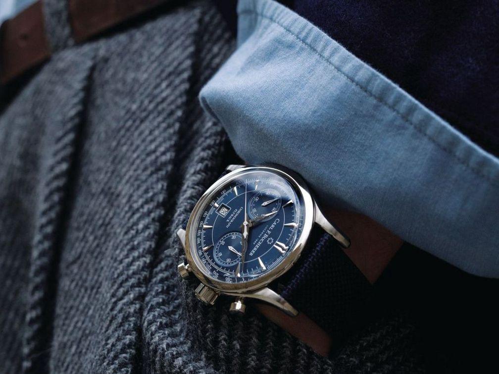 Часы Carl F Bucherer